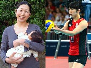 ロンドン後の出産を経て――。荒木絵里香、現役復帰宣言。~バレー元日本代表が語る2年間~