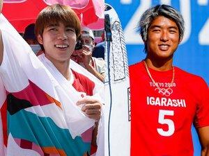 """五十嵐カノアと堀米雄斗""""金メダルの約束""""「一緒に獲りたかったけど…」 なぜ日本人の青年は世界的カリスマになれたのか?"""