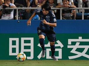 松井大輔が目をかけるドリブラー。横浜FC・松尾佑介は五輪を目指す。