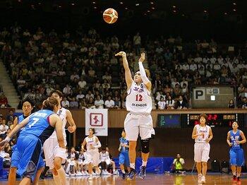 男女バスケが制裁解除後の初試合!閉じかけた五輪への道を再び歩む。<Number Web> photograph by AFLO