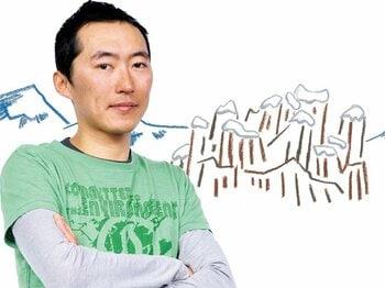 <最強のクライマーの「山」論> ギリギリボーイズ・天野和明 「いつもギリギリです」<Number Web> photograph by Asami Enomoto