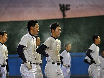 <野球部の長い一日> 日大三高 「涙の冬合宿密着記」<Number Web> photograph by Hideki Sugiyama