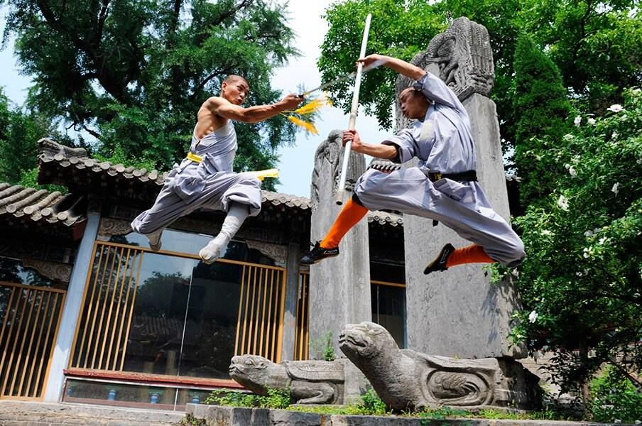 少林寺にて、武僧として生きること。3年に及ぶ撮影で目撃した超人の世界。<Number Web> photograph by Shoko Ogushi