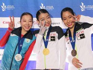 紀平梨花の逆転優勝に終わった四大陸。三原舞依、坂本花織らの思い――。
