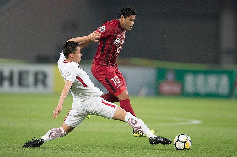 鹿島はACLもリーグも優勝を目指す。上海相手に発揮した、勝つ方法論。<Number Web> photograph by Getty Images