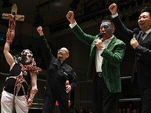 ゴジラもデスマッチも商店街も……。大日本プロレス、究極の混沌と悦楽。