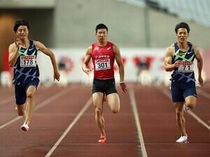 """桐生祥秀「一区切りかな」 山縣亮太は""""9.95""""のダメージが… 日本選手権「男子100m」はなぜ明暗が分かれたか"""