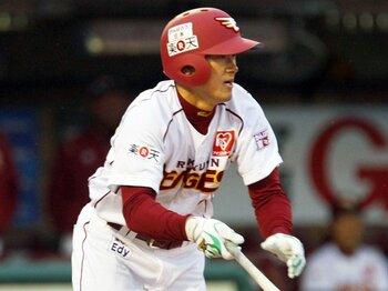 """主力を欠いても楽天はなぜ勝てる?星野采配で光る""""どろんこ3兄弟""""。 <Number Web> photograph by Kyodo News"""