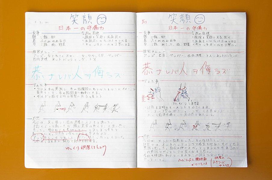 甲子園初勝利のいなべ総合。「野球ノート」で磨いた力とは?<Number Web> photograph by Kokoyakyu.com