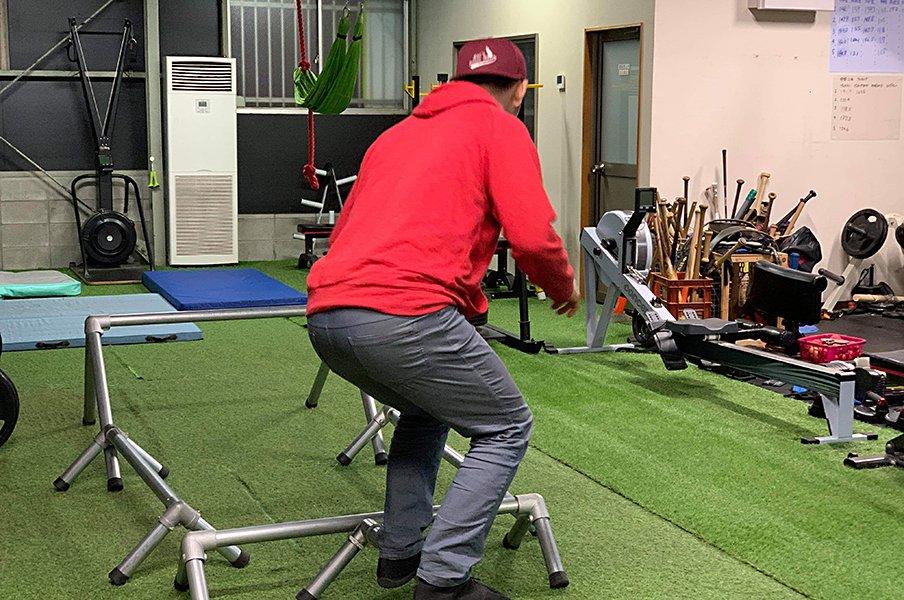 広島の田舎町に野球選手が集うわけ。気鋭トレーニング施設「マックズ」。<Number Web> photograph by Mac's Trainer's Room BASEBALL