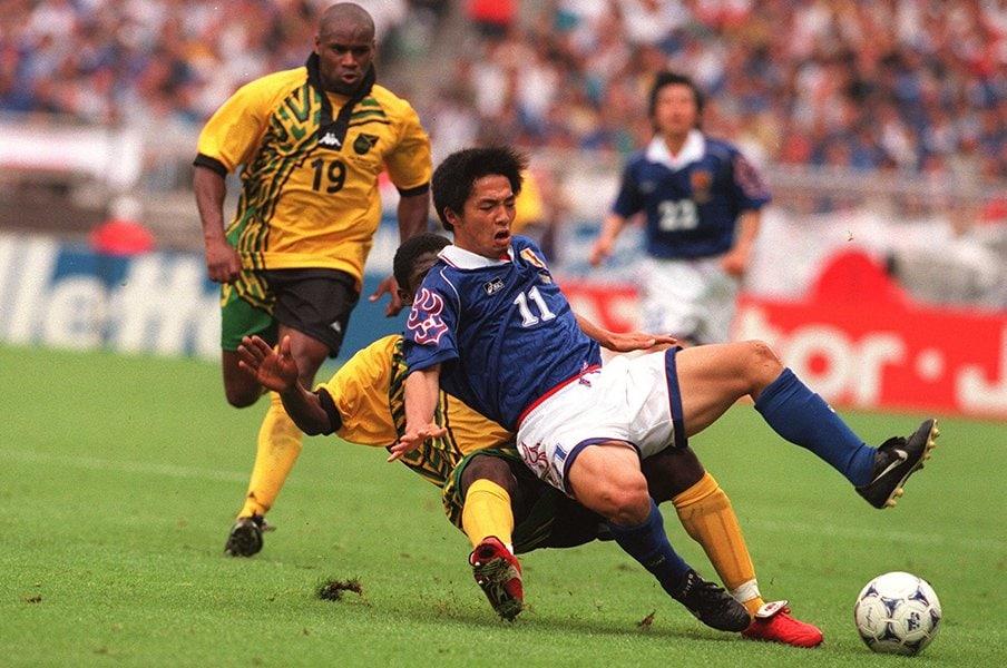 ジャマイカが恐れた18歳の小野伸二。智将が今明かすフランスW杯秘話。<Number Web> photograph by Getty Images