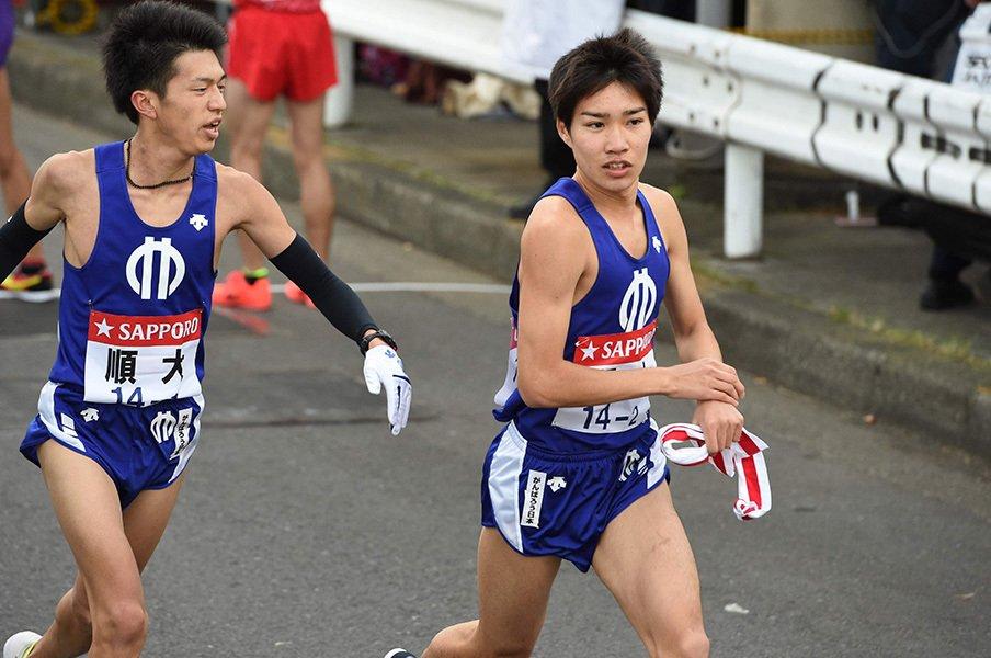 今季学生最強ランナー、順大・塩尻和也が目指す道。<Number Web> photograph by AFLO