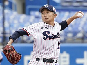 ヤクルト開幕投手、石川雅規40歳。頭脳と義侠心、身の丈に合う投球。