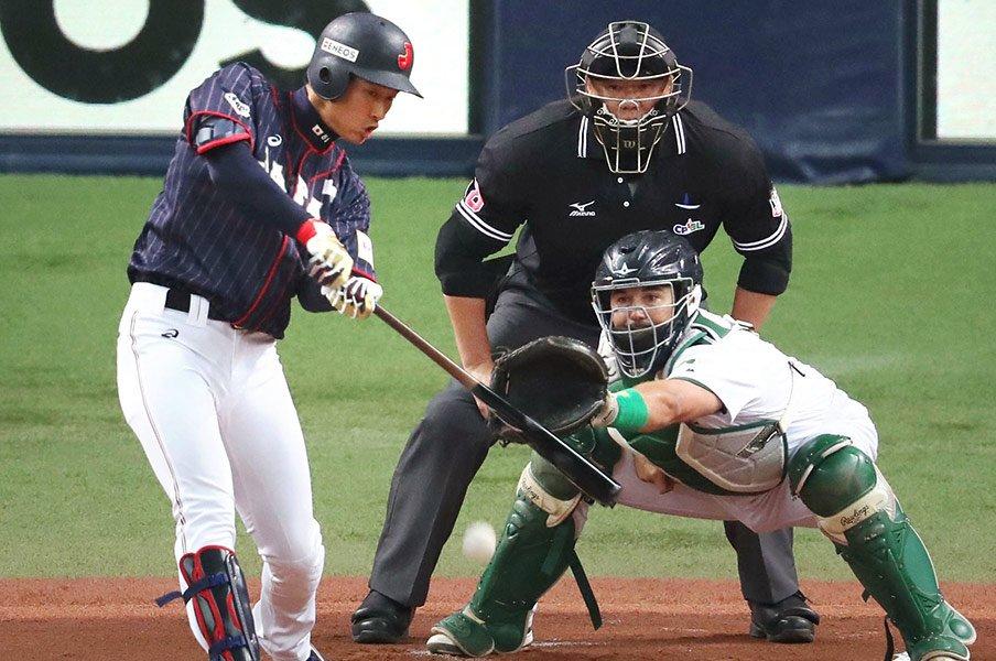 東京五輪のナインが見えてきた!2年後が楽しみになった侍J強化試合。<Number Web> photograph by Kyodo News