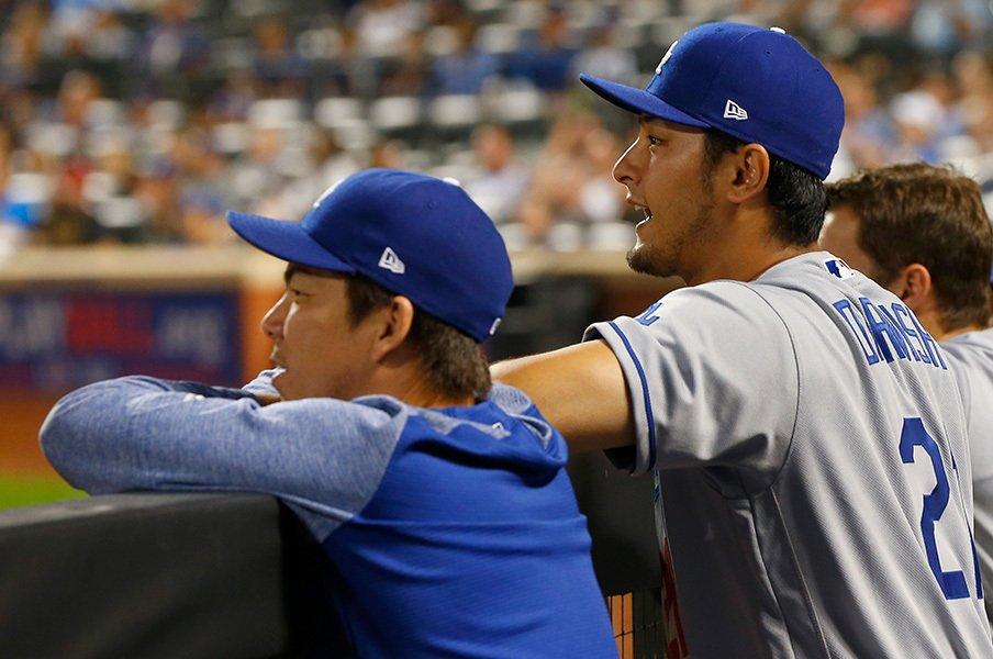 マカべッシュが語るダルビッシュ。東北高校野球部が1つになる日。<Number Web> photograph by Getty Images