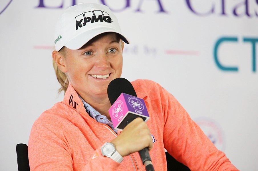 ゴルフ全米女王はビジネスも世界一!?ステイシー・ルイスが抱く野望とは。<Number Web> photograph by Shizuka Minami