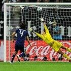サッカー女子W杯2011決勝、勝利を決めた熊谷紗希のPK