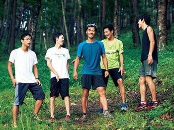 高校教師・山本健一 「先生は世界一のトレイルランナー!? トレーニングは授業と部活で」<Number Web> photograph by Mami Yamada