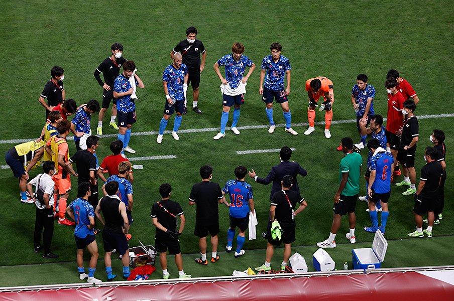 吉田麻也「まだ倒れるわけには…」スペイン戦のダメージは否めない それでも「メダリストで終わる」東京五輪世代の集大成を - サッカー日本代表 -  Number Web - ナンバー