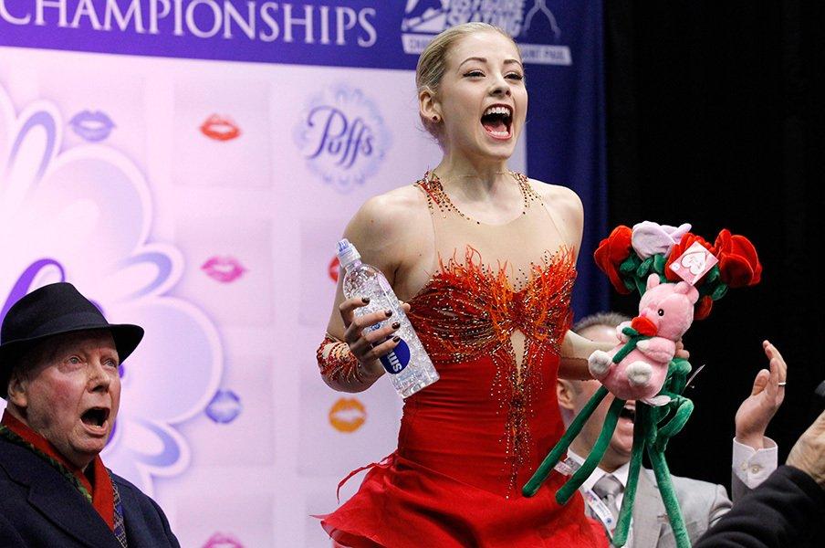 全米選手権で劇的な逆転女王に!華麗に復活したG・ゴールド。<Number Web> photograph by AP/AFLO