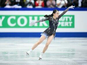フィギュア女子、日本人は表彰台逃す。4位・紀平梨花「目標はもっと高い所に」