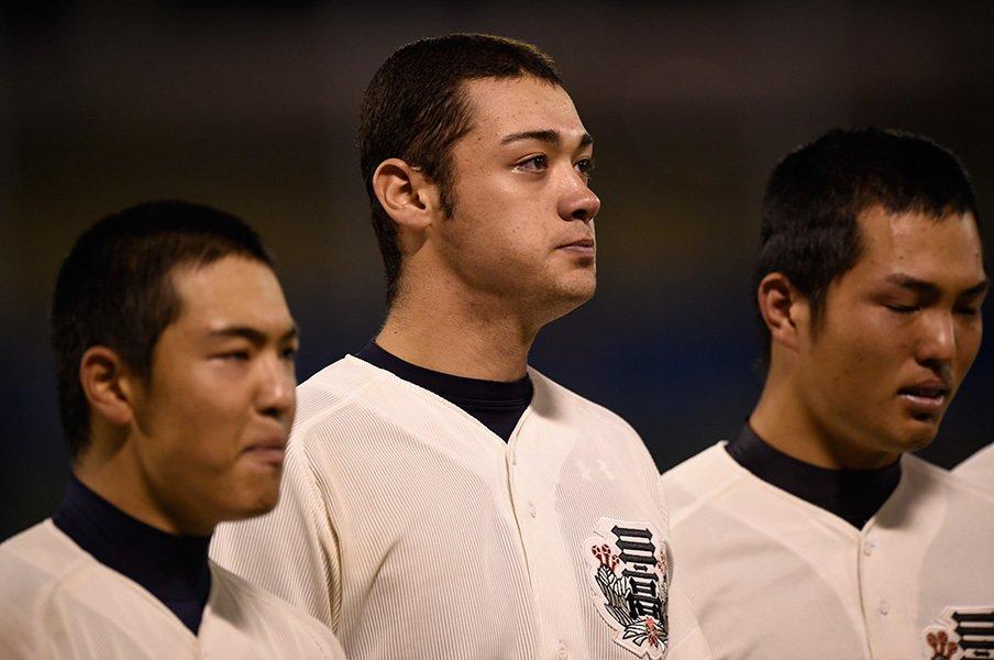 高校野球地方大会、知られざる逸材!11球団が集結した好投手の名は……。<Number Web> photograph by Hideki Sugiyama