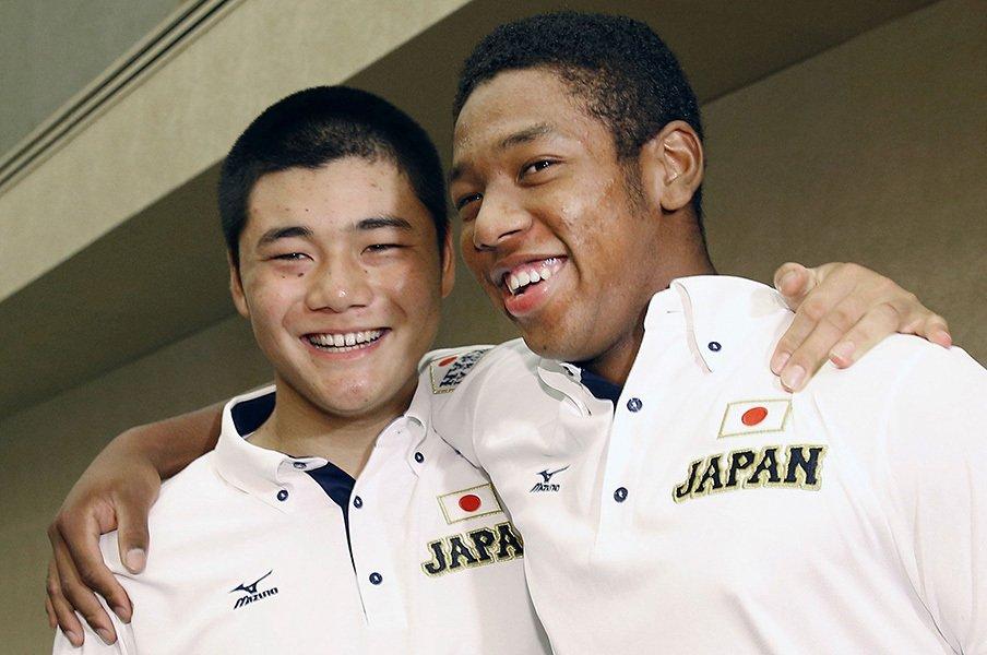 "U-18W杯で見えた、球児たちの本質。清宮、勝俣、平沢、オコエの""核""。<Number Web> photograph by Kyodo News"