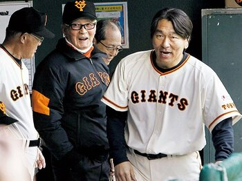 師は、更なる高みへの伴走者。~松井秀喜と長嶋茂雄の関係が特別だった理由~<Number Web> photograph by KYODO