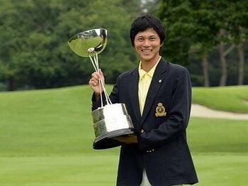 もうひとりの黄金世代、大堀裕次郎の台頭に期待。~日本アマゴルフ王者の覚醒~<Number Web> photograph by JGA