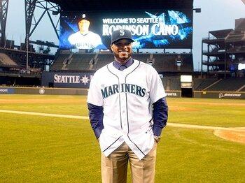 カノが電撃移籍を決断。シアトルの救世主となるか。~なぜヤンキースを離れたのか?~<Number Web> photograph by AFLO