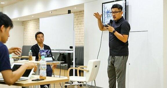 """ライゾマ齋藤社長が池田純に語った、 """"スポーツとテクノロジー""""融合の未来。"""