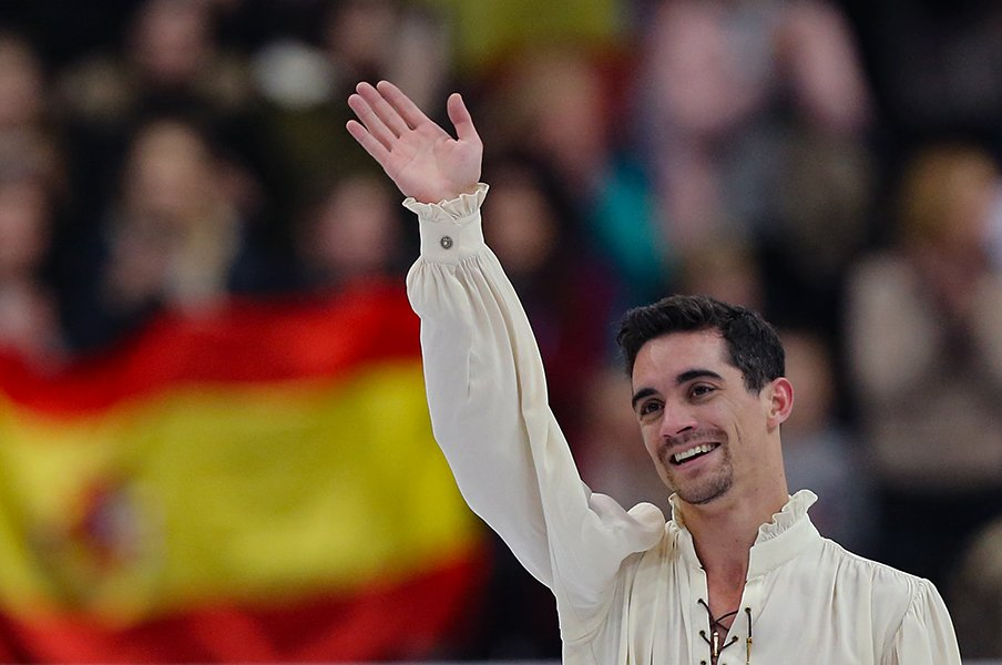 フェルナンデス欧州7連覇で競技引退。フィギュア界に刻んだスペインの栄光。<Number Web> photograph by Getty Images