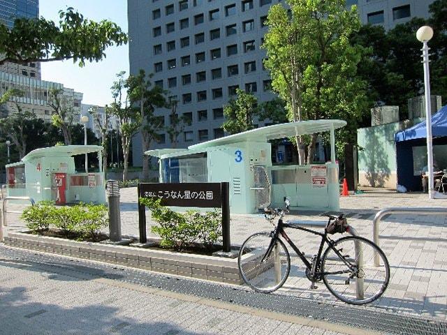 が噂のハイテクロボット駐輪場 ... : 亀戸 自転車 駐輪場 : 自転車の