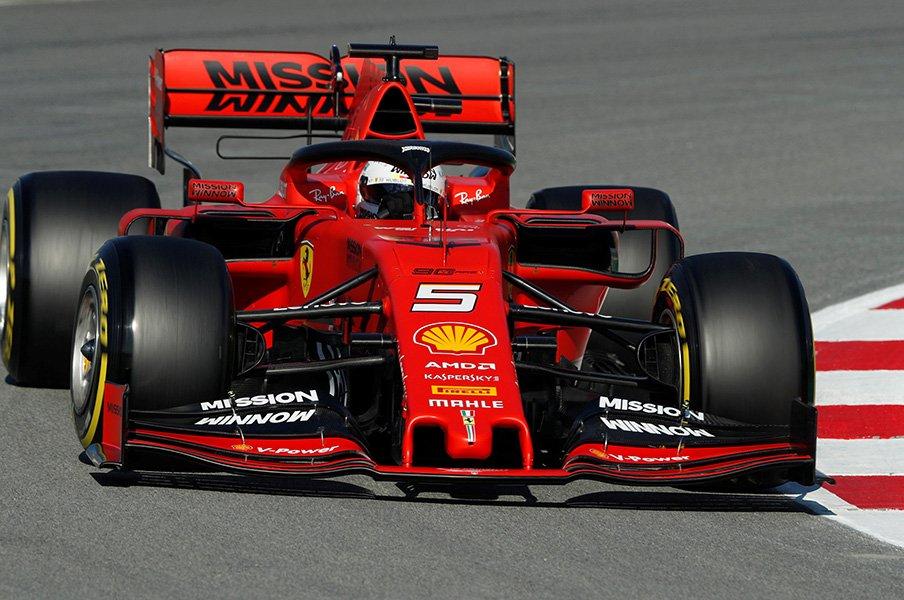 2019年F1開幕! 勢力図が大変化。ホンダの供給先と逆襲のフェラーリ。【2019年上半期 F1部門1位】<Number Web> photograph by AFLO