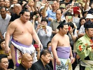 相撲は本当に体重が重い方が有利?番付が上がるほど小さくなる影響度。