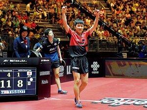 世界卓球で大躍進の日本勢。13歳・張本智和の可能性。~2年で身長が15cm伸びる、というリアル成長期~