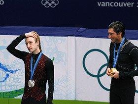 """4回転なき金メダルは妥当か? 論争を呼ぶプルシェンコの""""異議""""。"""