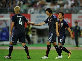 ザックジャパン、グアテマラに3-0。収穫は選手たちに見えた「危機感」。 <Number Web> photograph by Takuya Sugiyama