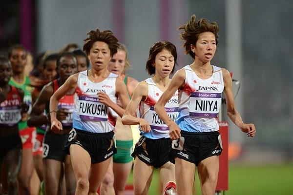 女子1万m、序盤は日本勢が先頭集団形成も……。~ロンドン五輪2012~
