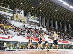 ケンブリッジ飛鳥か山縣か桐生か……。日本選手権の続きで9秒台を夢見る。