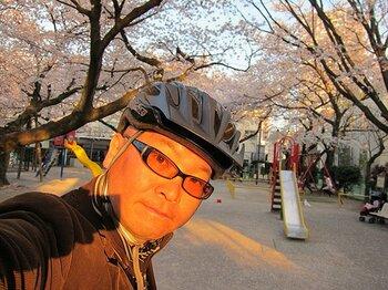 TOKYO西側にある桜の新名所を、自転車に乗って一気に巡礼してみる。<Number Web> photograph by Satoshi Hikita