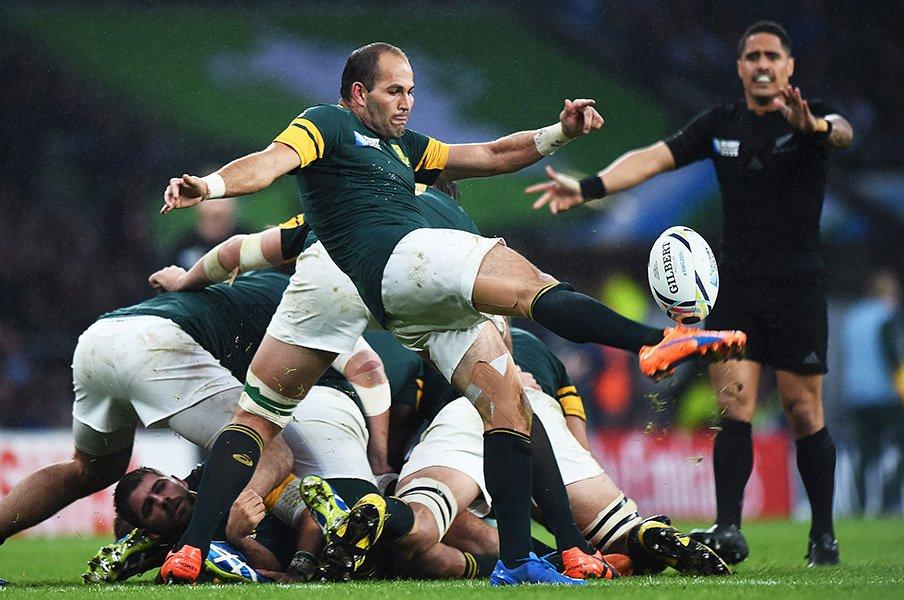 南ア、ラグビーW杯準決勝で敗れる。負傷者続出で、NZにどう挑んだか?<Number Web> photograph by AFLO