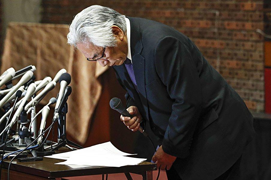 アメフトは暴力的な競技ではない!伝説の横国-法政戦の証言で考える。<Number Web> photograph by Kyodo News