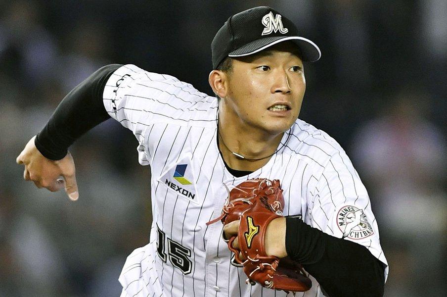 新人で3位の5勝は挙げたが……。ロッテ・関谷亮太はいつも崖っぷち。<Number Web> photograph by Kyodo News