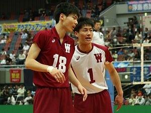 早稲田大の1年生・大塚達宣の選択。Vリーグの誘いを断り、大学で伸びる。