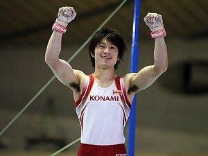 """""""安全運転""""で体操NHK杯5連覇。内村航平の本当の目標は東京五輪。"""