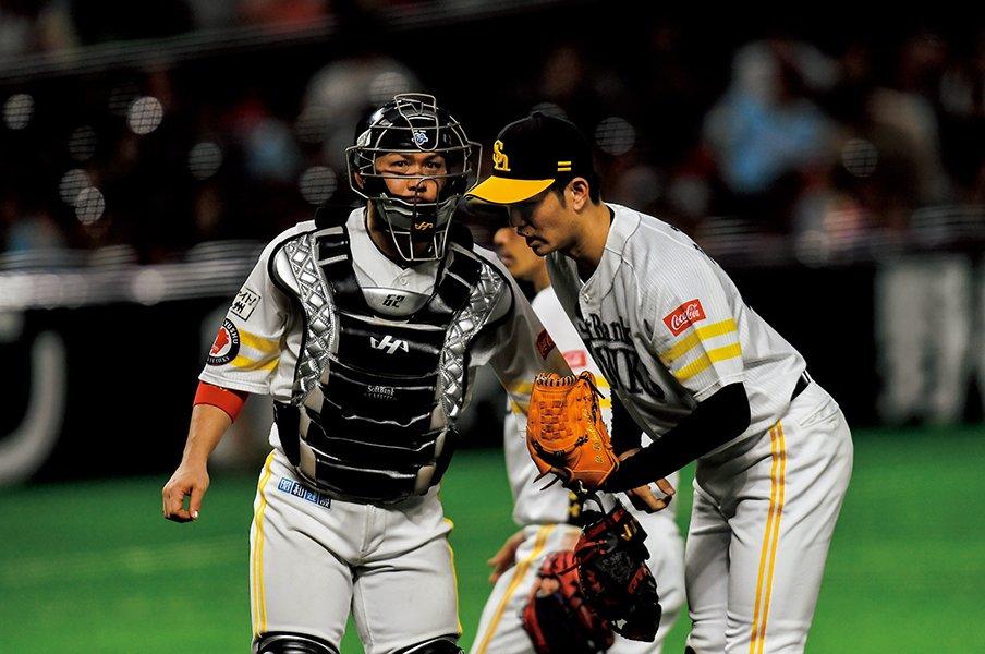 <リードで示した成長>甲斐拓也「天才打者を封じた刻印」<Number Web> photograph by Nanae Suzuki
