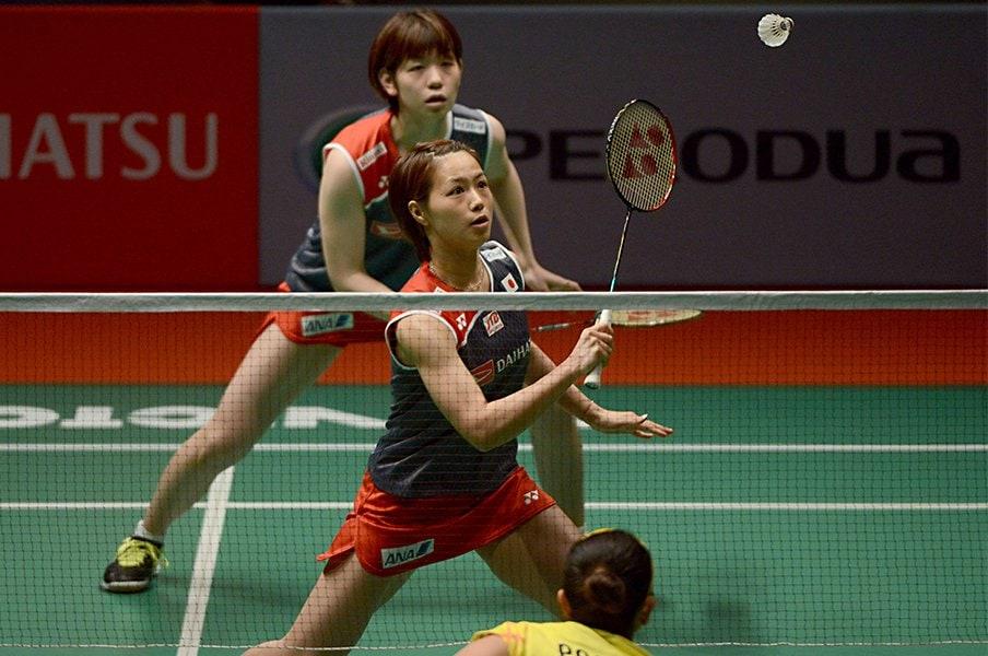 バド女子ダブルスの熾烈な五輪争い。藤井瑞希が解説する日本勢の強さ。<Number Web> photograph by AFLO