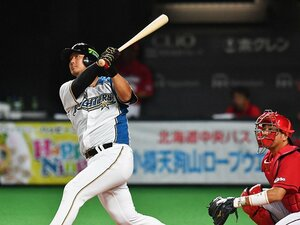 """中田翔の同点弾に""""4番像""""を考える。広島と日本ハム打線の最大の違い。"""