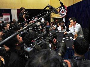 一日中つぶやき続けるアメリカの野球記者たち。~スクープはツイッターで!?~